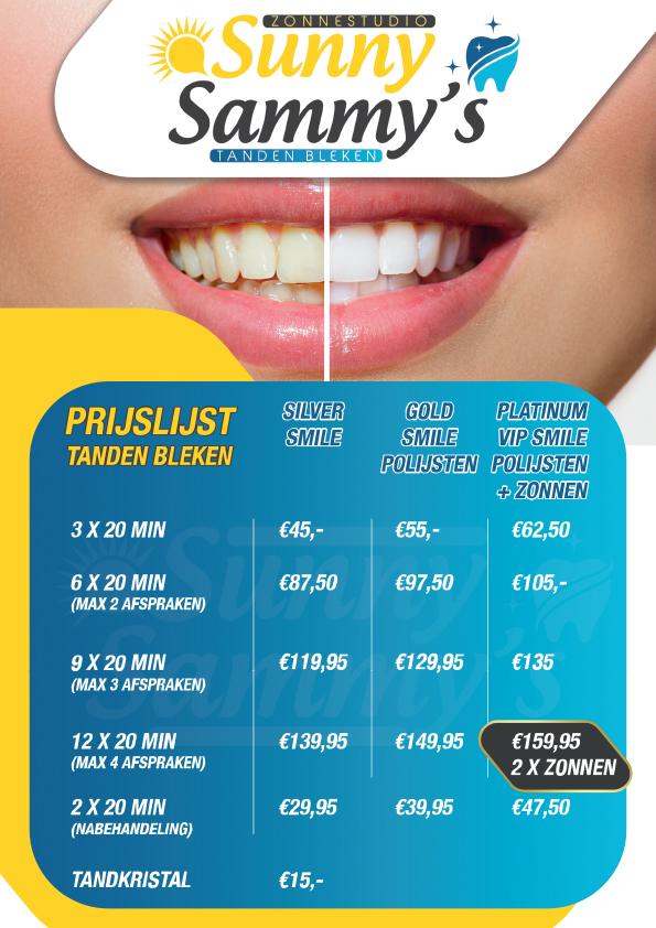 Prijslijst-tanden-bleken